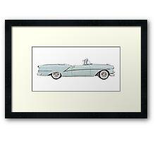 1954 Oldsmobile Starfire ninety-eight Framed Print