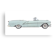 1954 Oldsmobile Starfire ninety-eight Canvas Print