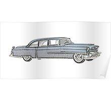 1955 Cadillac - Series 75 Poster