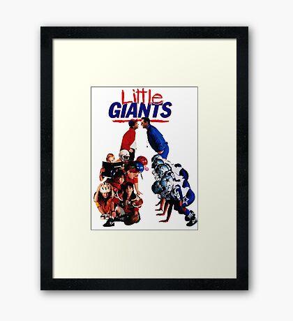 Little Giants Framed Print
