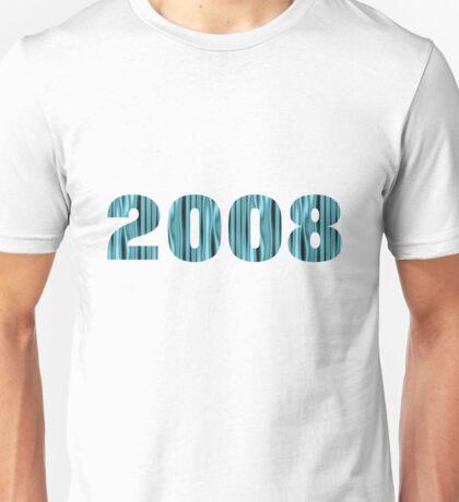 2008 Turquois Unisex T-Shirt