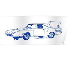 Plymouth Dodge Superbird Road Runner Poster
