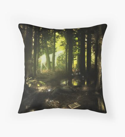 Woodland Wonderland Throw Pillow