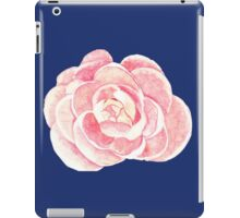 peony blue iPad Case/Skin