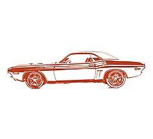 1971 Dodge Challenger Photographic Print