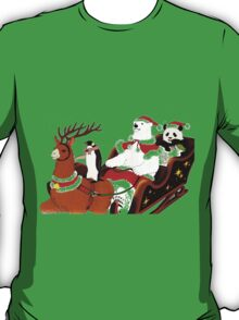 Shirokuma Cafe, Holiday Spirit! T-Shirt