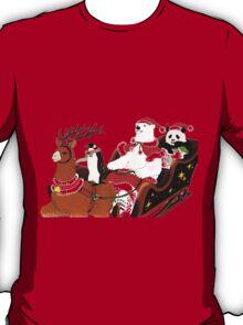 Shirokuma Cafe, Holiday Spirit! T-Shirt