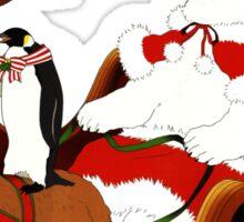 Shirokuma Cafe, Holiday Spirit! Sticker