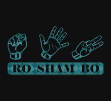 Ro Sham Bo - Rock Paper Scissors One Piece - Long Sleeve