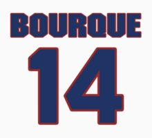 National Hockey player Rene Bourque jersey 14 by imsport