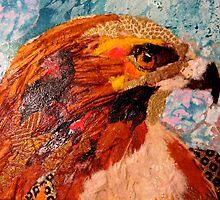 Redtail Hawk by KathleenBDurst