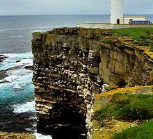 Noup Head & Lighthouse by WatscapePhoto