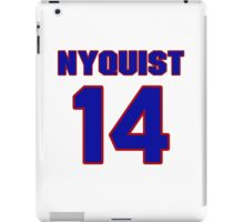 National Hockey player Gustav Nyquist jersey 14 iPad Case/Skin