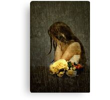 Lonely Bride... Canvas Print