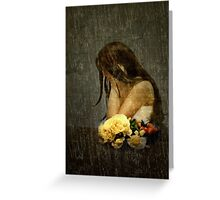 Lonely Bride... Greeting Card