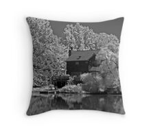Wicked Storm Approaching Throw Pillow