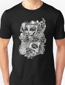 Feminine Tattoo Design T-Shirt
