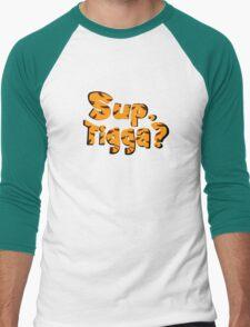 Sup, Tigga? Men's Baseball ¾ T-Shirt