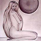 Sketch of woman 2 by vivianne