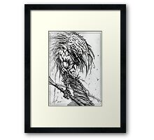 The Infested One Framed Print