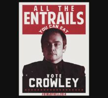 VOTE CROWLEY by tripinmidair
