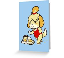 Isabelle's Day Off Greeting Card