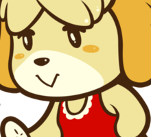 Isabelle's Day Off Sticker