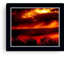 Sunrise at the Port of Montreal Canvas Print