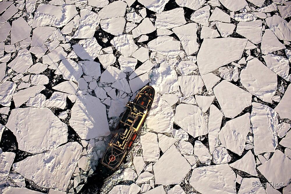 IB Kapitan Khlebnikov in the Ross Sea by Doug Thost