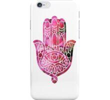Bougainvillea Hamsa iPhone Case/Skin