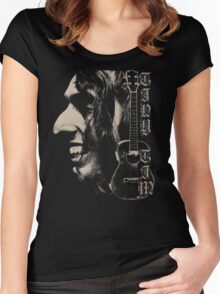 Tiny Tim #1 Women's Fitted Scoop T-Shirt