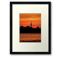 Sunset 4 11-12-07 Framed Print