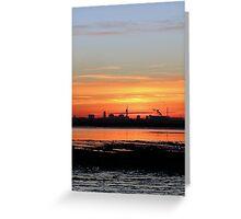 Sunset 5 11-12-07 Greeting Card