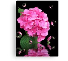 Blooming Bubbles Canvas Print