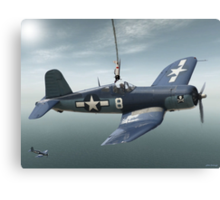 South Pacific Corsair  Canvas Print