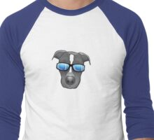 For the Pibble (Pit Bull) Lovers Men's Baseball ¾ T-Shirt