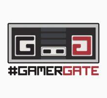 #GamerGate NES Controller Logo by unluckydevil