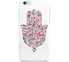Geometric Hamsa iPhone Case/Skin