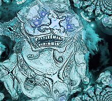 Foo dog fractal 3 by Ryanchaudhry2