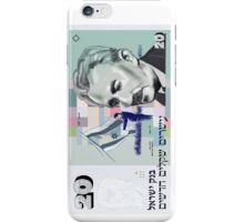 20 old shekel note bill iPhone Case/Skin