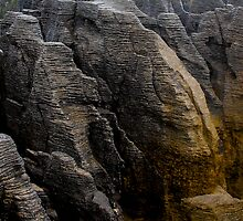 Pancake Rocks, New Zealand by Bassam  Shmordok