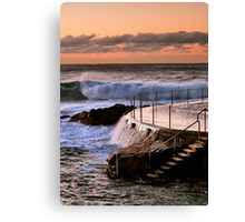 Sunrise at Bronte Beach, NSW Canvas Print
