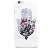 Hologram Rose Hamsa iPhone Case/Skin