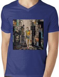 Outstanding Mens V-Neck T-Shirt