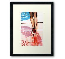 Fashion Show Framed Print