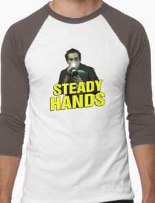 NIGHTCRAWLER - STEADY HANDS  Men's Baseball ¾ T-Shirt