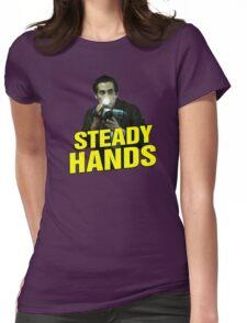 NIGHTCRAWLER - STEADY HANDS  Womens Fitted T-Shirt
