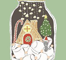 Christmas Terrarium by fluffymafi