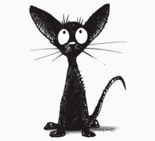 Little Black Oriental Cat Kids Clothes