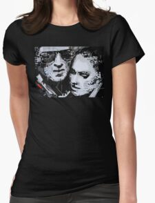 Cafe story Womens Fitted T-Shirt